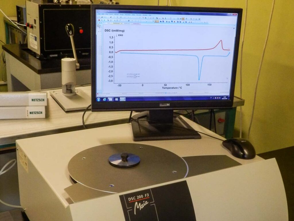 Calorimetria differenziale a scansione