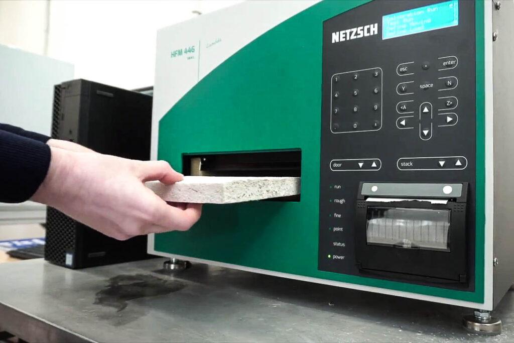 analisi conducibilità termica MaterialScan Trieste