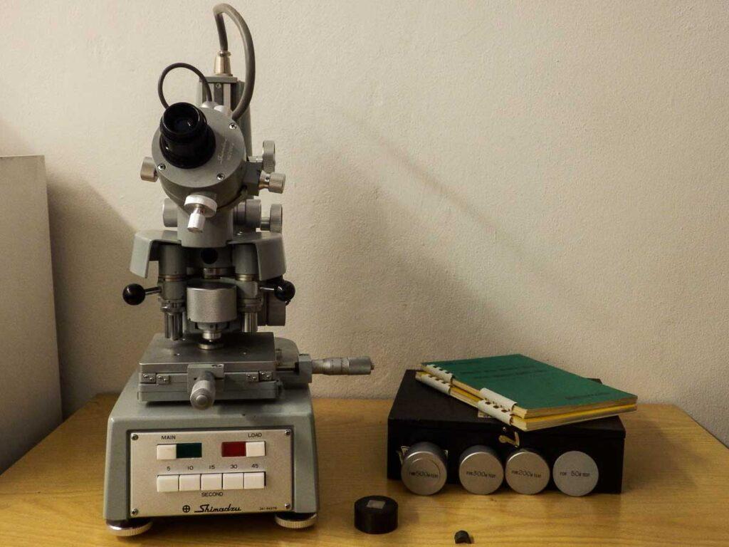 test microdurometro MaterialScan Trieste